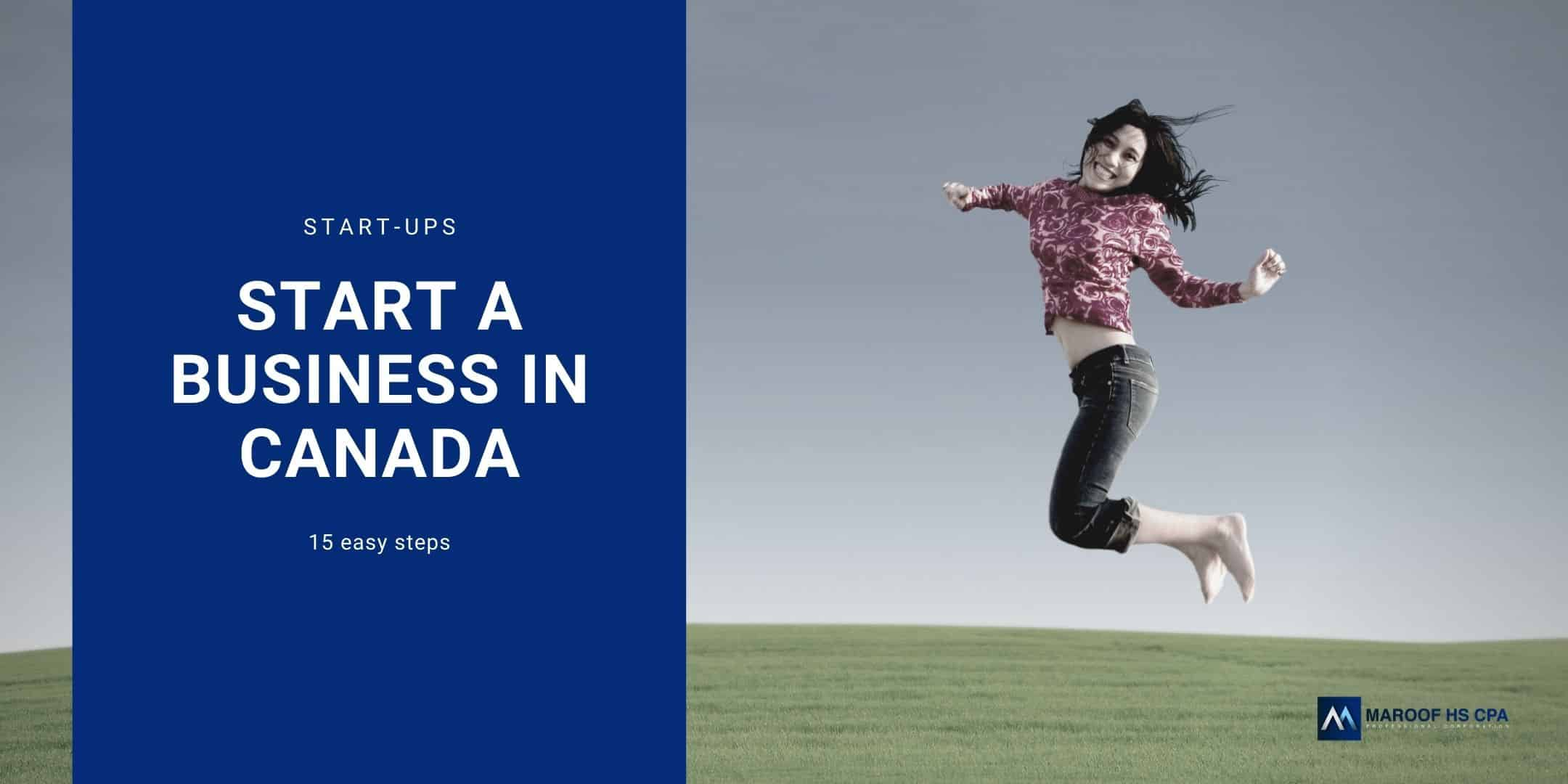 How to start a new business in Canada