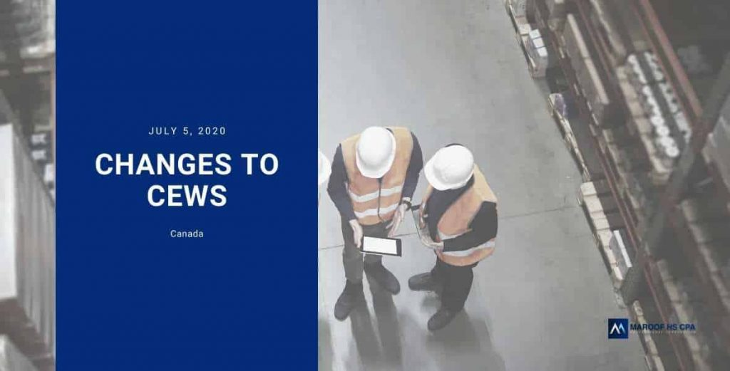 new rules for CEWS extension in Canada